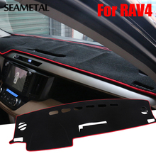 LHD For Toyota RAV4 XA40 2013 2014 2015 2016 2017 Car Dashboard Protector Mat Shade Photophobic Interior Styling Accessories Hot
