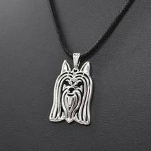 2017 New Arrival Women's Jewelry Rope ChainPendant Necklaces Australian Silky Terrier Jewelry Necklaces For Lovers Drop Shipping(China)
