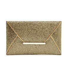 veevanv  Free Shipping New Both Side Diamond 2015 Gold Clutch Bags Ladies Evening Bag for Party Day Clutches Purses and Handbag