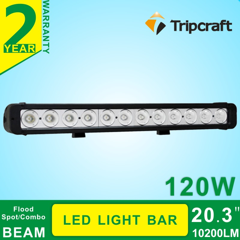 120W 20.3 Inch LED car light bar Off Road Light Driving Lamp Single Row For Truck SUV Boat 4X4 4WD ATV Tractor led light 12V 24V<br><br>Aliexpress