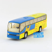 Free Shipping/Diecast Toy Model/Pull Back/HK City Express Bus/Sound & Light Cute Car/Educational Collection/Gift For Children(China)