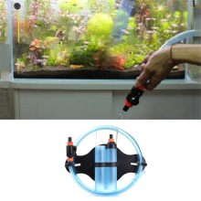 Fish Tank Aquarium Gravel Cleaner Pump Pipe Sand Washing Machine Suction Tube Cleaner Pipe CleanIng Tools