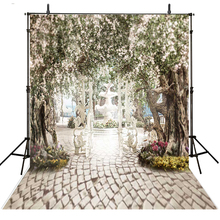 Wedding Photography Backdrop Garden Vinyl Backdrop For Photography Photocall Infantil Trees Wedding Background For Photo Studio