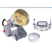 220V Commercial Herb Grain Mill Powder Grinder Machine Chinese Medicine Grinder Ultrafine Grinding With EU Plug(China)