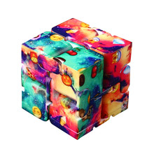 Buy Luxury EDC Infinity Cube Mini Stress Relief Fidget Anti Anxiety Stress Funny Toys Antistress Cube Relief Toy adults for $4.43 in AliExpress store