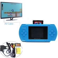 2.8inch Fullcolor LCD Screen 8bit Handheld Game Player Pocket Video Game Console with AV Cable TV-out Free Game Card US/EU Plug