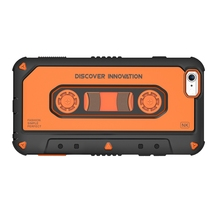 "For Apple iPhone 6 / 6S (4.7"") Nillkin MUSIC EAR Phone case Tape cassette Shield Hard Back Cover 3D patchwork shell coque para"