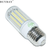 E27 E14 SMD2835 27 48 68 102 126LED Bulb 110V/220V led corn bulb white/warm white light chandelier lamp