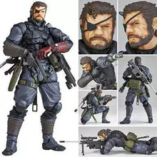 15cm Vulcanlog 004 MGS Metal Gear Solid V The Phantom Pain Venom Snake PVC Action Figure Resin Collection Model Doll Toy Gifts