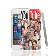 22040 Band and Youtube Imagines Cover cell phone Case for iPhone 4 4S 5 5S SE 5C 6 6S 7 Plus