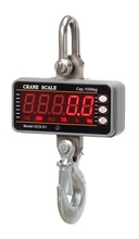 High precision 1000KG 2000LBS 1T Aluminum Digital Crane Scale heavy Duty Hanging Scale Smart Type LED Display(China)