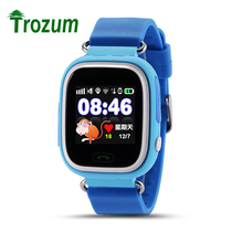 TROZUM Smart Watch Q90 for kids SOS WIFI GPS APGS baby watch SIM card remote monitoring Call voice micro chat Alarm Clock(China)