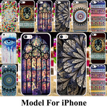 Plastic Cell Phone Cases For Apple iPhone 5 5C Bag Cover 5S 5G 55S 4 4G 4S 44S SE 6C 7G 6 6s 7 Plus iPhone5s Iphone5 Shell Cases