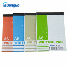 Writing Pad A6 70Sheets Office Note Books Personal Diary Notebooks Weekly&Monthly Plan Journal School Write Supplies Workbooks(China)