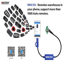 Mini KD Remote Key Generator Remotes Warehouse in Your mobile Phone Support Android Device Make More Than 1000 Auto Remotes