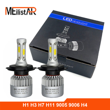 Car light COB Chip H4 H13 9004 9007 Hi-lo Beam H7 9005 HB3 9006 HB4 H11 H9 H1 H3 9012 Auto LED Headlight Bulb 8000lm 12V 6500k