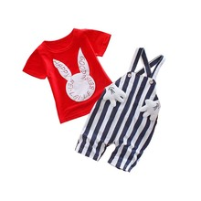 BibiCola 2017 Newborn Baby Girls Clothes Set Cartoon Tops + Pants 2PCS Kids Outfits Baby Boys Clothing Set Childrens Suits(China)