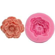 Flower wind Daisy Silicone Fondant Soap 3D Cake Mold Cupcake Jelly Candy Chocolate Decoration Baking Tool Moulds FQ1955