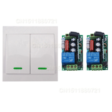 AC220V Digital Remote Control Switch  2 Receiver Wall Transmitter Wireless Power Switch 315/433MHZ Radio Controlled Switch Relay