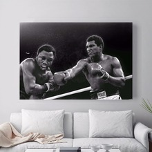 Ali Muhammad Ali Boxing Quote Canvas Art Print Painting Poster Wall Pictures For Living Room Home Decoration Decor No Frame