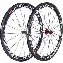 SUPERTEAM 50mm Carbon Wheelset Chinese Carbon Fiber 700C Road Bike Carbon Wheels Clincher With R36 Hub Bicycle Wheel