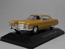 Auto Inn - ixo 1:43 Cadillac Coupe Deville 1966 Diecast model car(China)