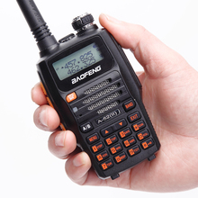 Baofeng A-52(II) 8w 4800mAh Li-ion Battery Transceiver 10km Walkie Talkie 65-108/136-174/400-520MHz Dual Band Two-Way Ham Radio(China)