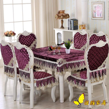 High Quality Luxurious Round Table Cover Rectangle Table Cloth Hotel Wedding Tablecloth Machine Washable Fabric Cloth Table