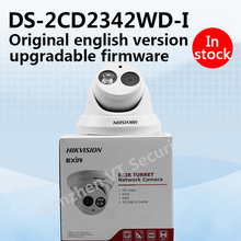In stock original english version DS-2CD2342WD-I 4MP WDR EXIR Turret Network Camera ip camera POE replace DS-2CD2332-I h.264+