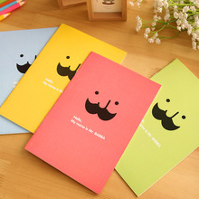 1pcs BZNVN JB101 South Korea stationery lovely creative beard binding the soft surface Notebooks Journals can be Necessary(China)