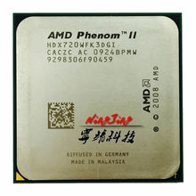 AMD Phenom II X3 720 X3 720 2.8 GHz Three-Core CPU processor HDX720WFK3DGI Socket AM3(China)