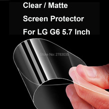 Buy New HD Clear / Anti-Glare Matte Screen Protector LG G6 5.7 Inch Protective Film Guard (Not Tempered Glass) for $1.09 in AliExpress store