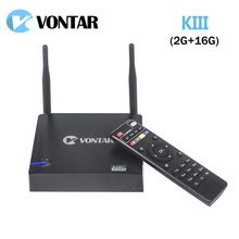 [Genuine] VONTAR KIII Android 5.1.1 TV Box 2GB/16GB K3 Amlogic S905 2.4/5G Dual Wifi 1000M Gigabit LAN BT4.0 UHD 4K 3D