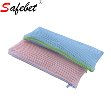 Women Fashion Nylon Mesh Cosmetic Bags Travel Toiletry Wash Makeup Storage Cosmetic Organizer Makeup Bag Make Up Tools Pouch