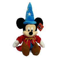Original Mickey Minnie Mouse Plush Toys Fantasia Sorcerer Mickey Pelucia 60cm Stuffed Animals Dolls Children Gifts(China)