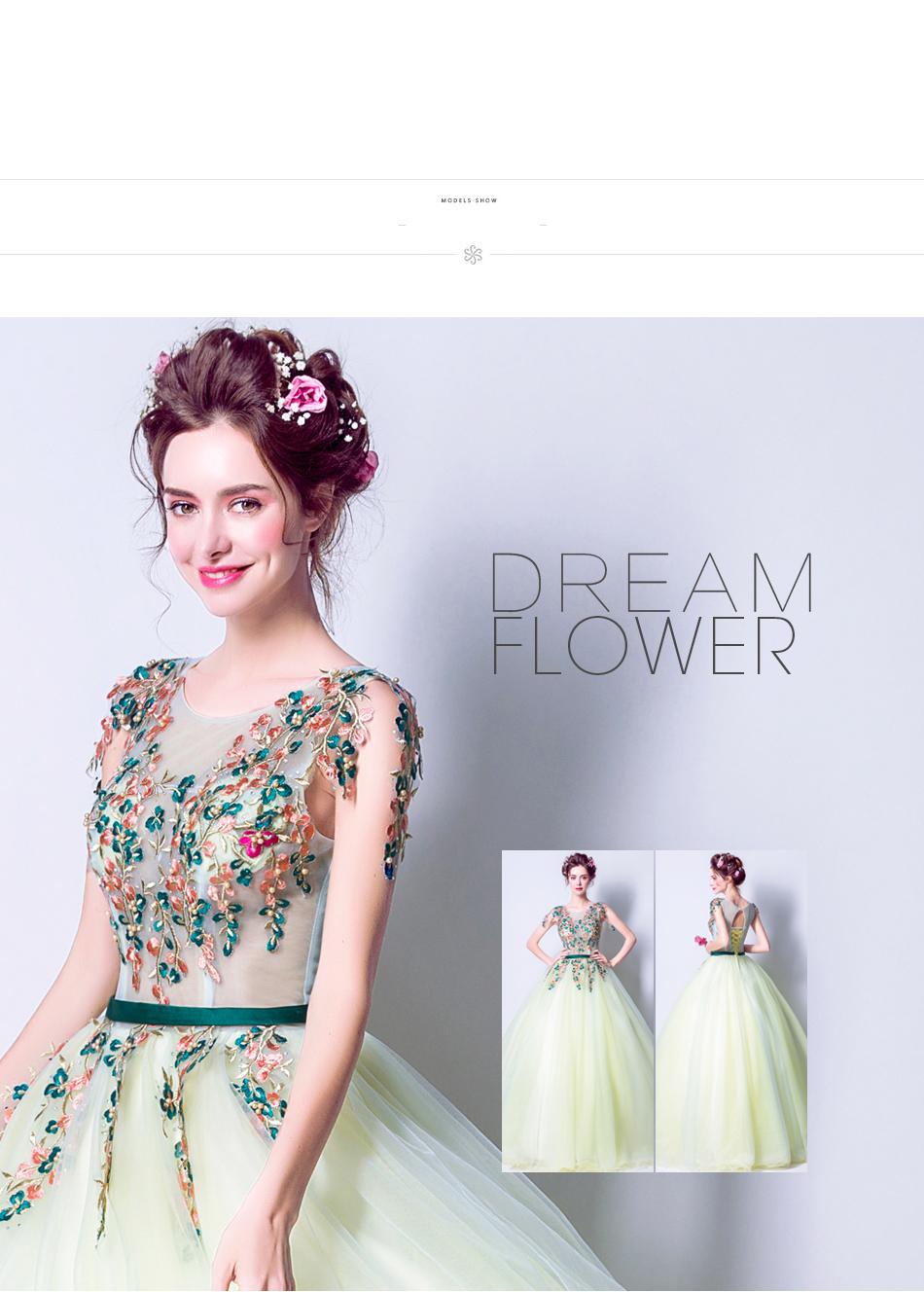 Angel Wedding Dress Marriage Bride Bridal Gown Vestido De Noiva 2017 Green, embroidery, the wizard of Oz 2217 5
