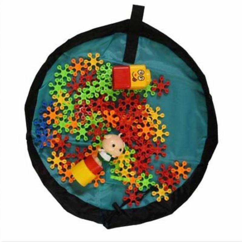 Oxford Fabric 50/150cm Kids Toy Storage Bag Portable Drawstring Toys Organizer Bin Box Children Playing Mat Mayitr New