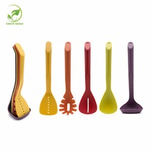 Color Boxing Non-stick Kitchen Tools Sets Eco Friendly Plastic Spatula set Kitchen Supplies Cooking Utensils Stocked x 5Pcs /Set(China)