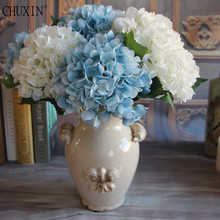 NEW 45cm Artificial Flowers Hydrangea flowers 7 colors Home decorations for wedding party photography(China)