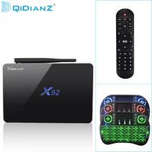 DQiDianZ X92 2GB+16GB/3GB+32GB Android 6.0 Smart TV Box Amlogic S912 Octa Core 4K H.265 Set Top Box