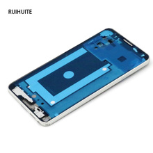 RUIHUITE Front Housing Mid Cover Frame Bezel Silver For Samsung Galaxy Note 3 N900V N9005 N900A N900S N9002 N900 3G Version(China)