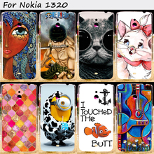 Hard Plastic Cell Phone Skins Cases For Nokia Lumia 1320 Cases 22 Styles Anti-Knock Top Rated Protective Skin Shell Housing