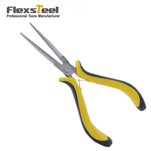 "Flexsteel High Carbon Steel 4.5"" Mini Side Cutting Plier Mini Combination Plier Mini Long Nose Plier 6"" Mini Needle Nose Plier"