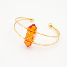 New fashion accessories jewelry hand made crystal cuff bangle for women girl nice gift B3334