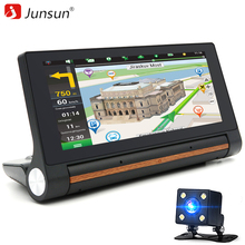 "Junsun 6.86"" Car DVRs 3G GPS Navigation Android 5.0 Navigator car camera Bluetooth WIFI dash cam 16GB Center console registrar(China)"