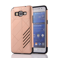 High Quality Armor Shockproof Soft Silicon Hard PC Combo Cover For Samsung Galaxy Grand Prime G530 G530F G530FZ G530Y G530H Case