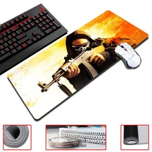 Super Locking Edge large Game Mouse Pad 30x60cm high quality DIY pictures super big size computer game tablet mouse pad
