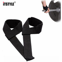 ITSTYLE Gym Weight Lifting Strap Fitness Weight Lifting Straps Sports Wrist Support Weightlifting Gloves Protector