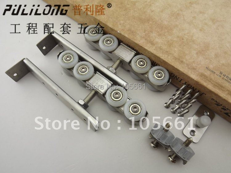 show wood door  roller  CY-086Picture(a pair include two pcs)<br><br>Aliexpress
