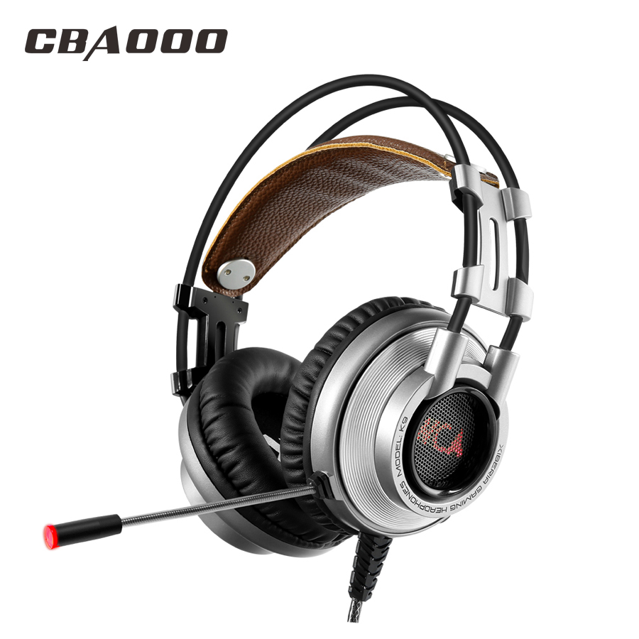 CBAOOO K9 Gaming Headphones wired Headphone Hi-Fi Subwoofer Stereo Headset with Microphone for PC<br>